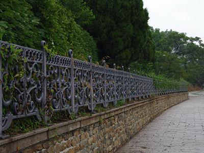园林铁艺护栏用途