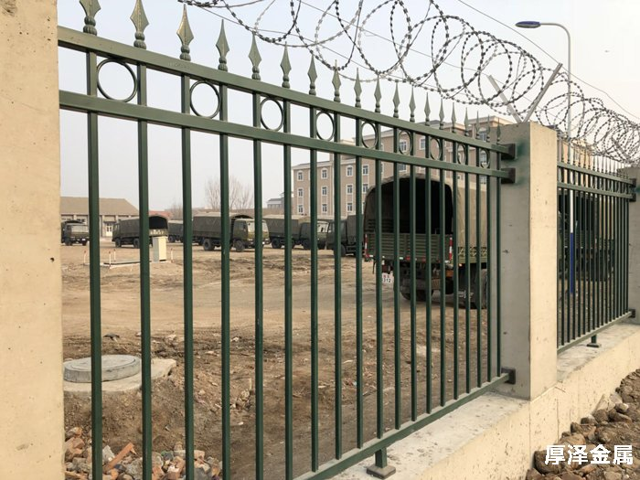 部队训练场锌钢围栏